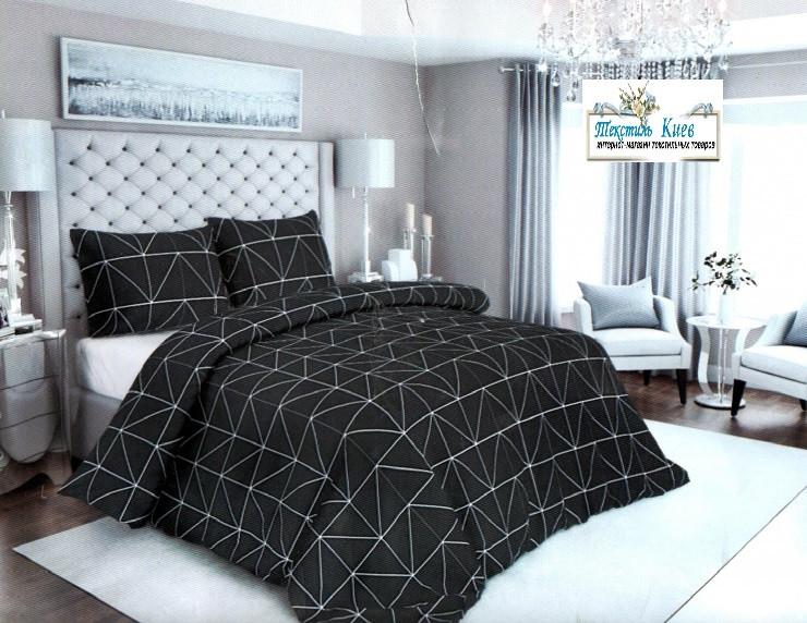 Комплект постельного белья Бязь Gold Евро размер 200 х 215 см.постельное бельё