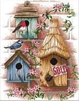Набор для вышивания крестом 34х43 Соседи Joy Sunday F190
