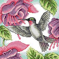 Набор для вышивания крестом 27х27 Колибри Joy Sunday DA225