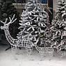 Олень новогодний светящийся светодиодный Led 70см, фото 4