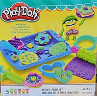 Пластилин игровой набор для детей лепки тесто play-doh аксессуары 5 цветов копия