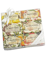 Натуральное фруктовое мыло (подарочный набор) - 6 шт Х 150 гр.