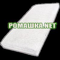 Матрас детский в кроватку 120х60 кокосовый 7 см Комфорт 5 слоев кокосовая койра для новорожденных 0264 Белый