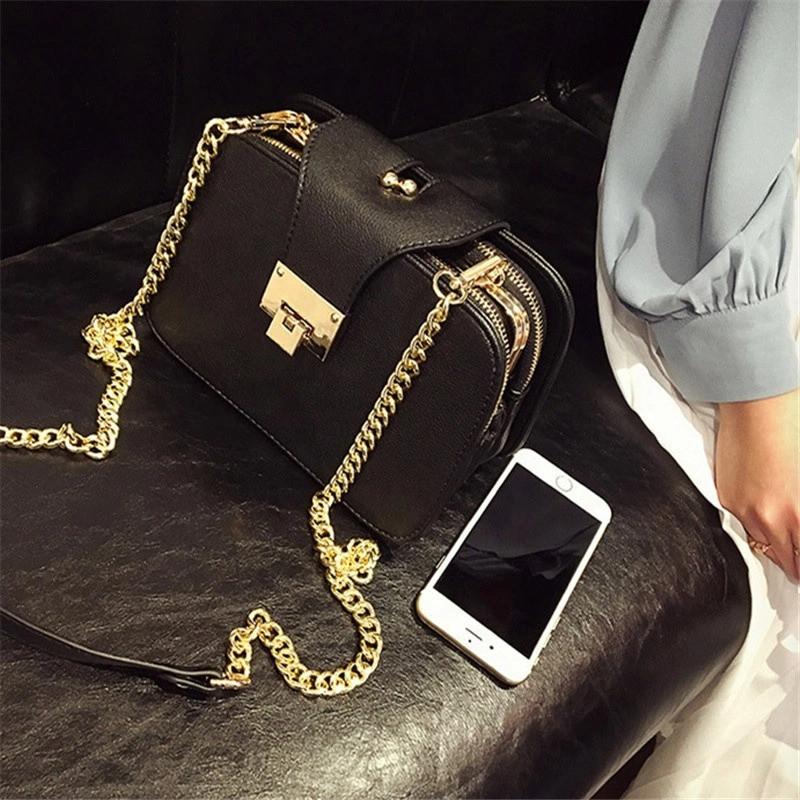 Модная женская сумка на плечо/ Дизайнерские сумки с клапаном на цепочке