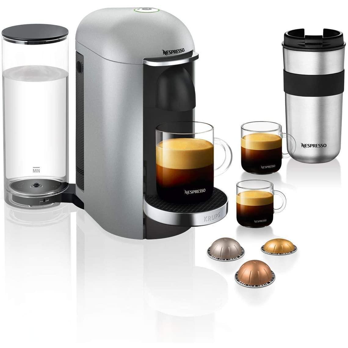 Капсульная кофеварка эспрессо Krups Nespresso Vertuo Plus XN900E (Витрина)