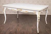 Стол обеденный в стиле Барокко, в наличии, из натурального дерева