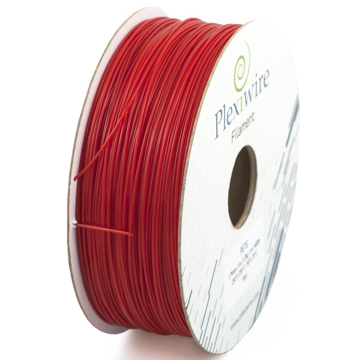 PETG пластик для 3D принтера Червоний 1,75 мм (300 м / 0.9 кг)