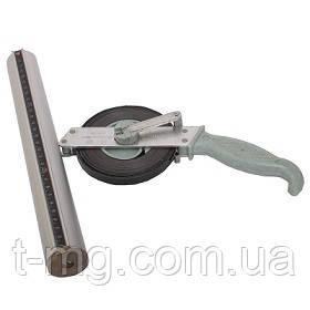 Металлическая рулетка с лотом 20
