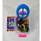 Магнитный конструктор,детский 3Д конструктор,конструктор  магнитный в чемодане 36 деталей, фото 2