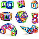 Магнитный конструктор,детский 3Д конструктор,конструктор  магнитный в чемодане 36 деталей, фото 5