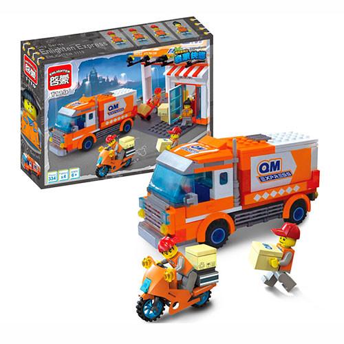 Конструктор Brick Служба доставки 1119, 337 элементов