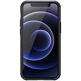 "Nillkin iPhone 12 mini (5.4"") Super Frosted Shield Pro Black Чехол Бампер, фото 2"
