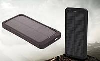Зарядное устройство на солнечных батареях 5000 mAh (банк энергии), фото 1