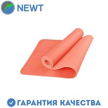 Коврик для фитнеса (йога-мат) с чехлом Newt TPE Eco 6 мм, розовый