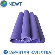 Коврик для фитнеса (йога-мат) с чехлом Newt TPE Eco 6 мм, фиолетовый