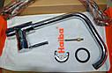 Высокий латунный смеситель для кухни на мойку Haiba HANS 011 (HB0785), фото 7