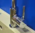 Высокий латунный смеситель для кухни на мойку Haiba HANS 011 (HB0785), фото 4