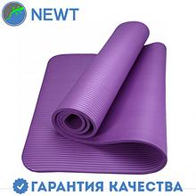 Коврик для фитнеса Newt NBR 10 мм, фиолетовый