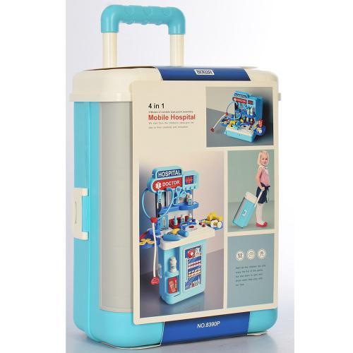 Набор доктора игровой 8390P в чемодане