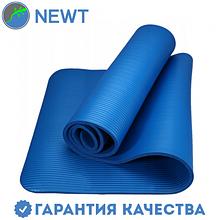 Коврик для фитнеса Newt NBR 10 мм, синий