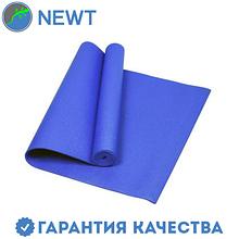 Йога-мат (коврик для йоги) с чехлом Newt PVC GR 5 мм, синий