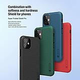 "Nillkin iPhone 12 mini (5.4"") Super Frosted Shield Pro Green Чехол Бампер, фото 6"