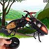 Радиоуправляемый жук Олень 9996-E | игрушка на радиоуправлении | насекомые для детей