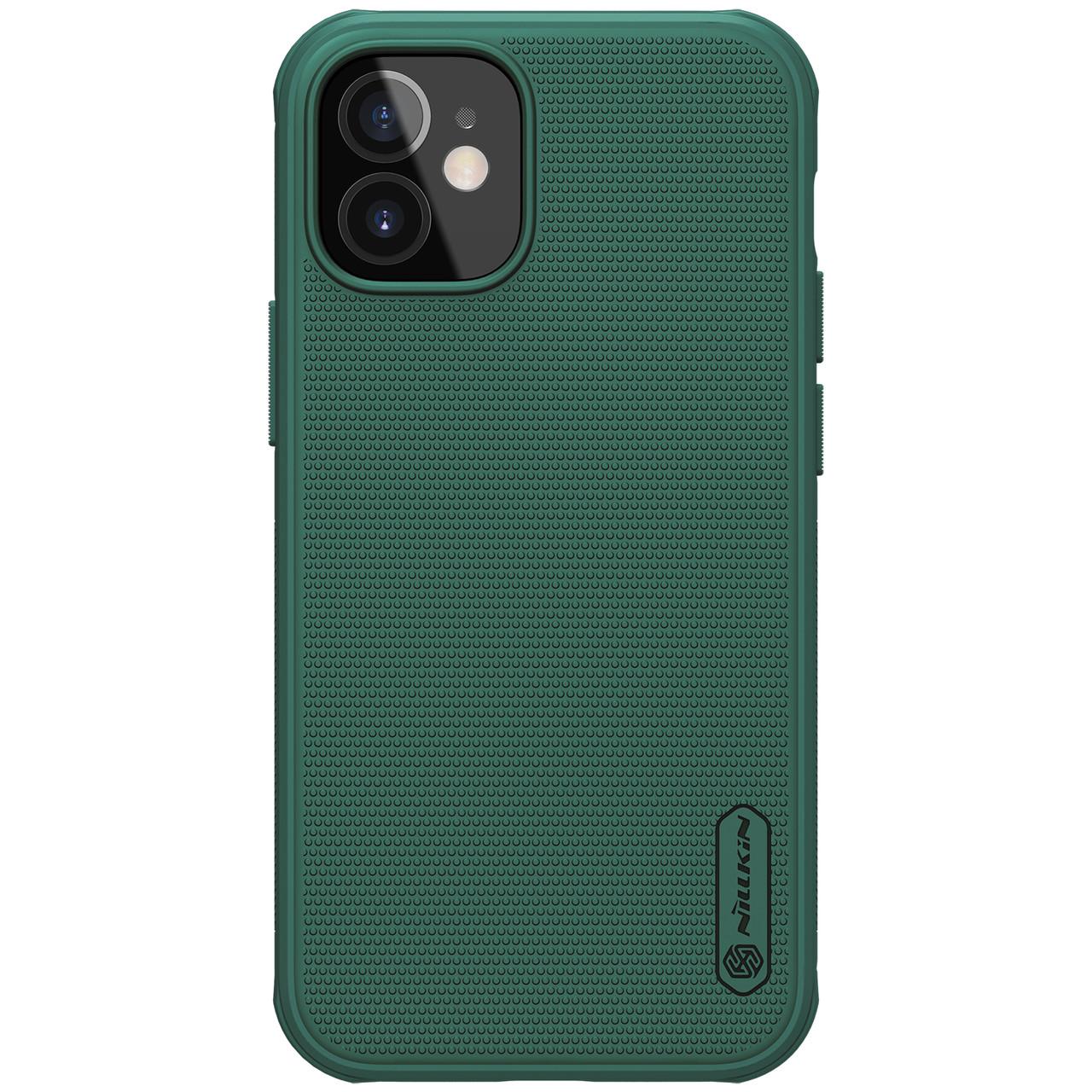 "Nillkin iPhone 12 mini (5.4"") Super Frosted Shield Pro Green Чехол Бампер"