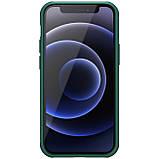 "Nillkin iPhone 12 mini (5.4"") Super Frosted Shield Pro Green Чехол Бампер, фото 2"