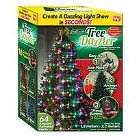 Елочная гирлянда Tree Dazzler 48 Led лампочек, фото 1