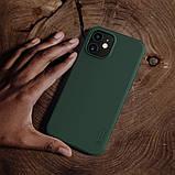 "Nillkin iPhone 12 mini (5.4"") Super Frosted Shield Pro Green Чехол Бампер, фото 5"