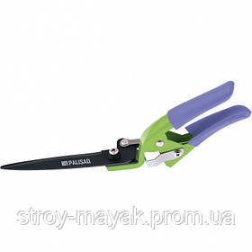 Ножницы газонные 310 мм, металлические обрезиненные ручки, Palisad
