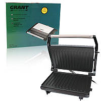 Гриль прижимной домашний GRANT GT 782 1200W | тостер | сэндвичница | электрогриль | бутербродница, фото 1