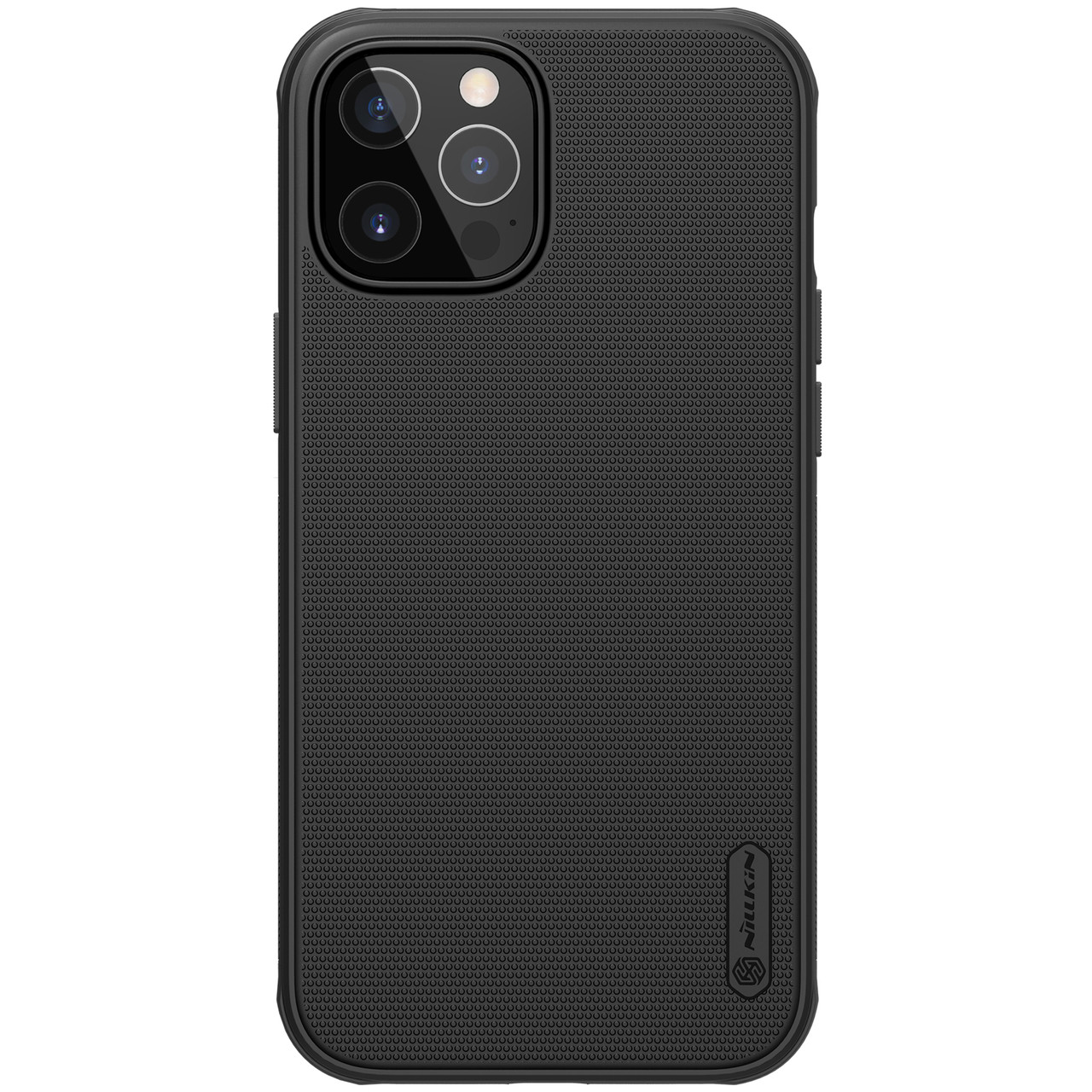 "Nillkin iPhone 12/ 12 Pro (6.1"") Super Frosted Shield Pro Black Чехол Бампер"