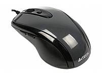 Мышь A4 N-708X-1, 1600dpi, USB, серый, фото 2
