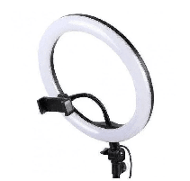 Кольцевая LED Лампа Selfie Ring Fill Light Разноцветная лампа Rgb MJ26 25 Вт D=26 см 5500K - 3200К, фото 3