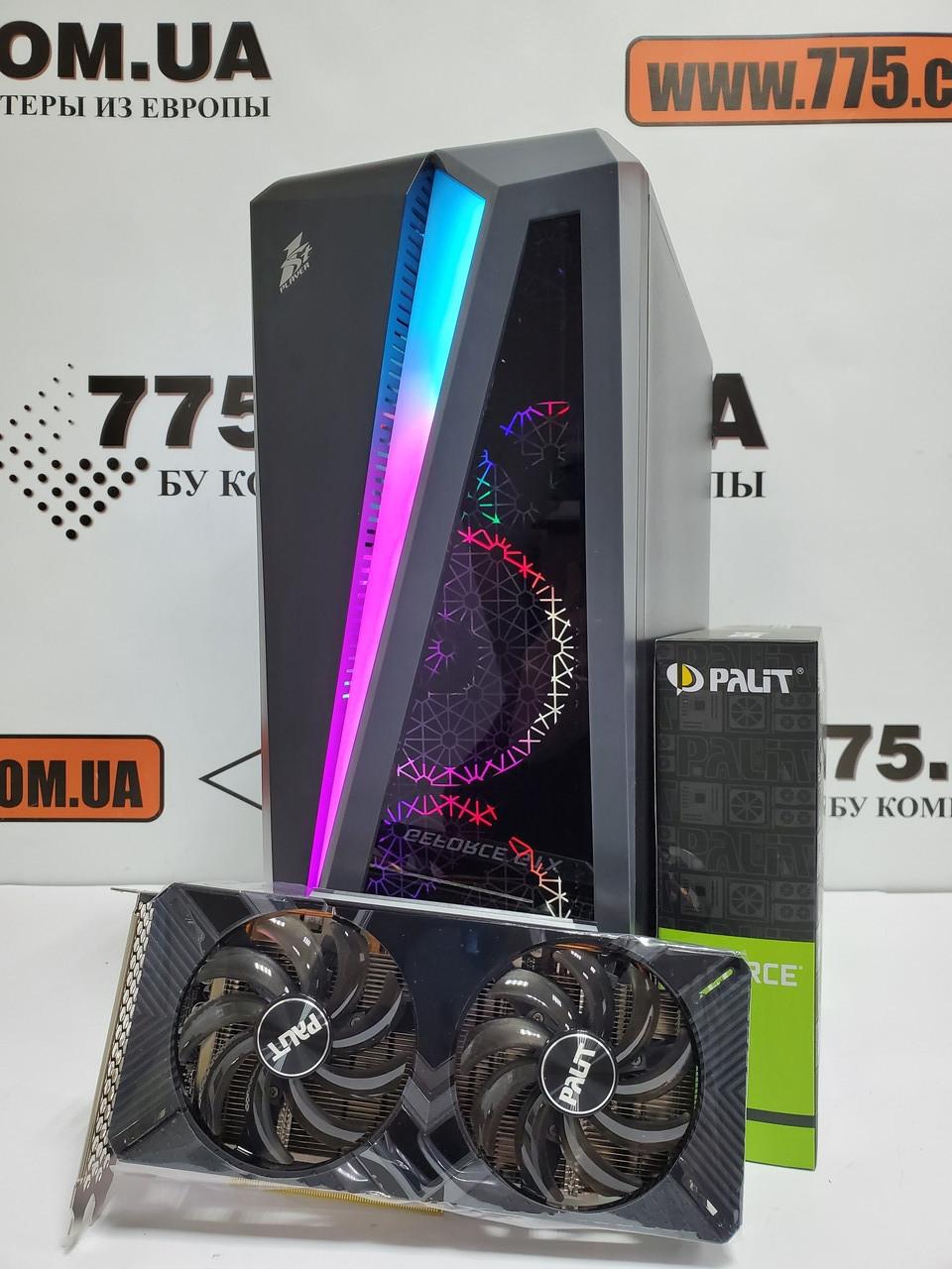 Игровой компьютер ATX, Intel Core i7-4790s 4.0GHz, RAM 8ГБ, SSD 120ГБ, HDD 500ГБ, GTX 1660 6GB GDDR5
