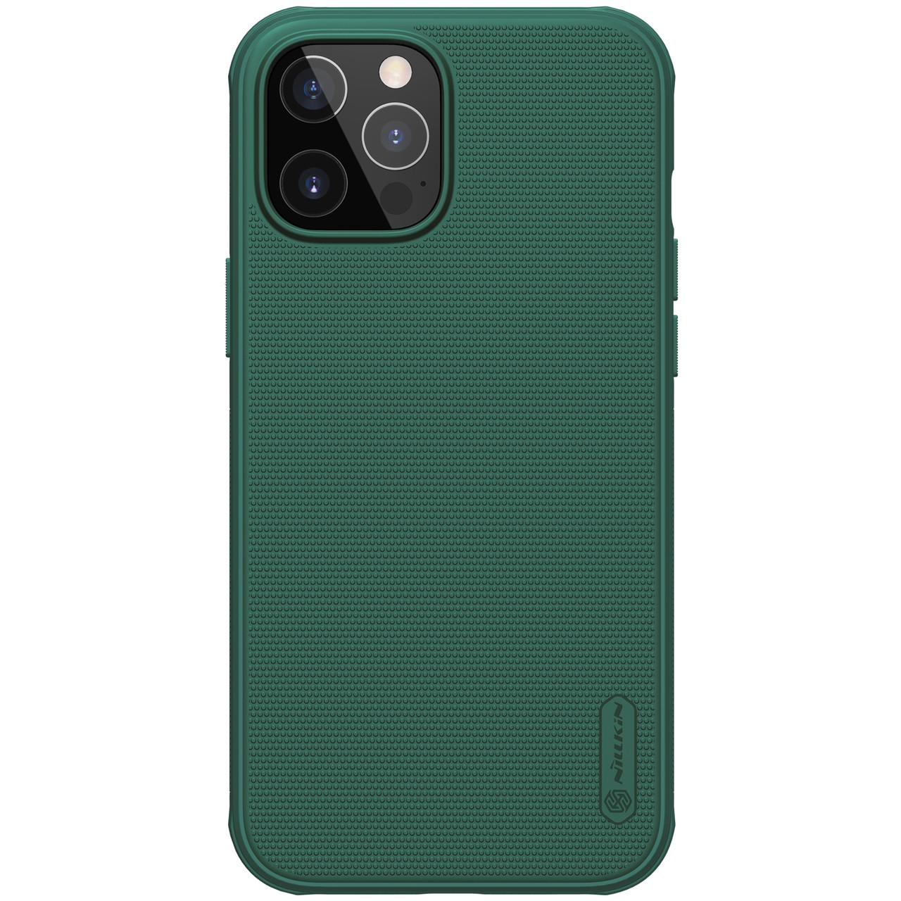 "Nillkin iPhone 12/ 12 Pro (6.1"") Super Frosted Shield Pro Green Чехол Бампер"