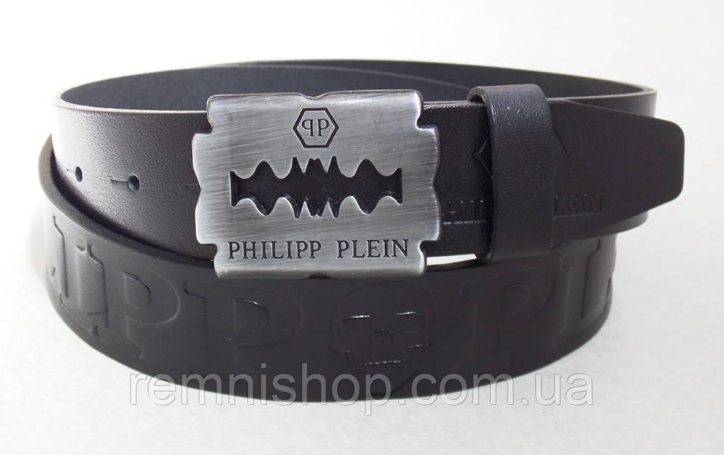 Кожаный ремень унисекс Philipp Plein