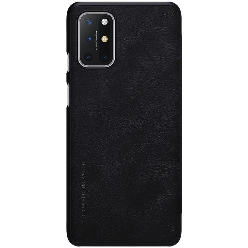 Nillkin Oneplus 8T Qin leather Black case Кожаный Чехол Книжка
