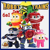 """Набор Роботы Поезда трансформеры """"Robot Trains"""""""