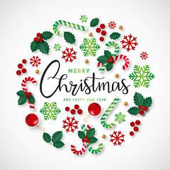 Happy New year and Merry Christmas, З Новим роком та Різдвом Христовим, С Новым годом и Рождеством