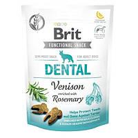 Brit Care Dog Functional Dental Venison Функциональное лакомство для собак с олениной и розмарином для зубов