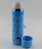 Вакуумный детский термос из нержавеющей стали BENSON BN-54 (500 мл) | термочашка Doraemon, фото 1