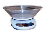 Весы кухонные круглые с чашей LIVSTAR, фото 3