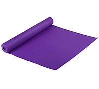 Классический многофункциональный коврик для йоги MS 1846-1 Фиолетовый   йогамат   йога мат  коврик для фитнеса, фото 1