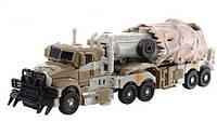 """Робот-трансформер-трейлер H 604/8110 """"Праймбот""""   робот автомобиль   робот + военная машина, фото 1"""