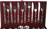 Набор столовых предметов приборов ложки вилки ножи, фото 4