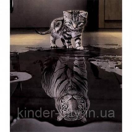 Алмазная Живопись 30*40 GL70270 Кот Тигр