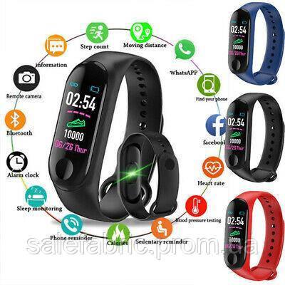 Фитнес браслет Smart Band M3 Браслет здоровья